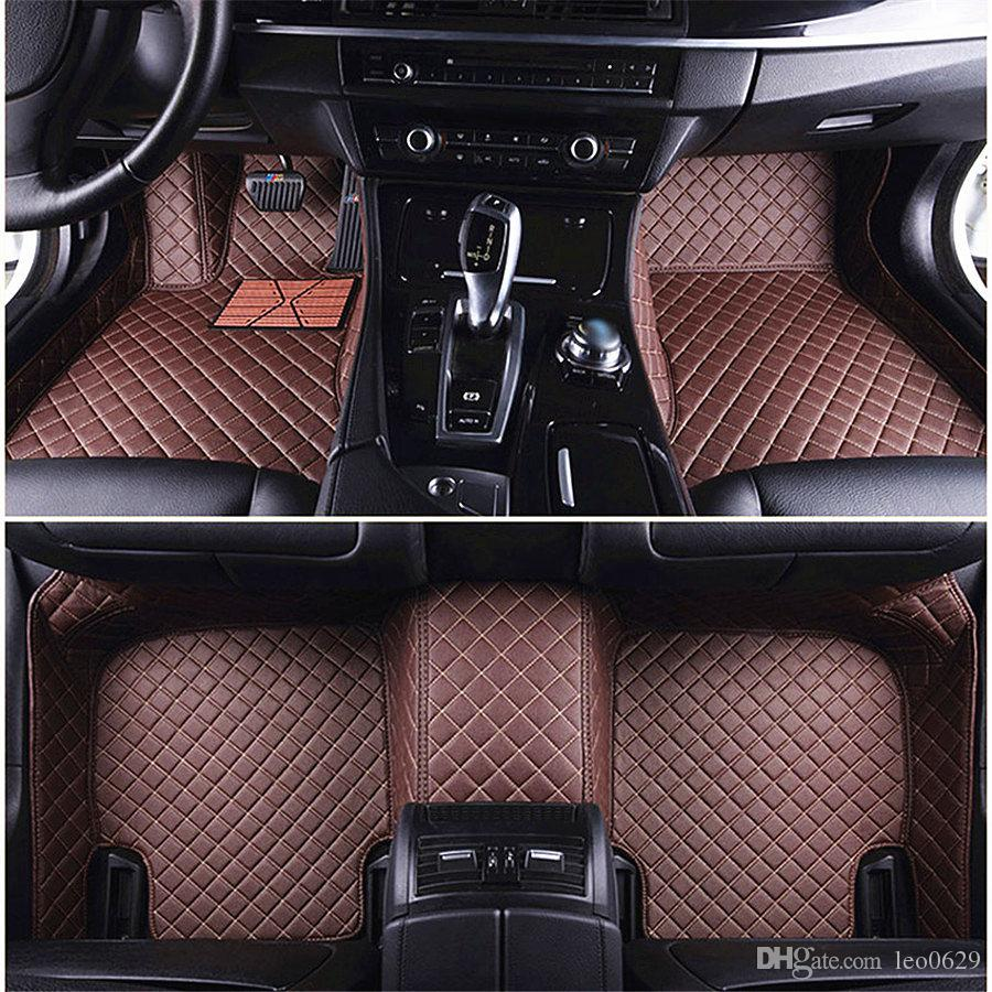 3D Luxury Custom Car Floor Mats for SKODA OCTAVIA KODIAQ SUPERB PAPID YETI FABIA Car Carpet Mat Universal Car Carpet Alfombrilla Coche