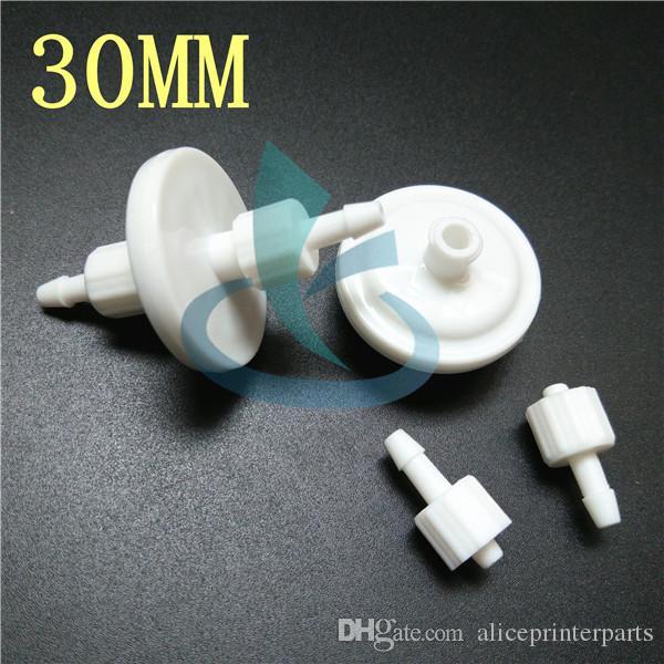 50 stücke 30mm spektren skywalker tinte filter 5 micron für solvent / UV plotter Wit-farbe Flora gongzheng drucker disc filter solvent