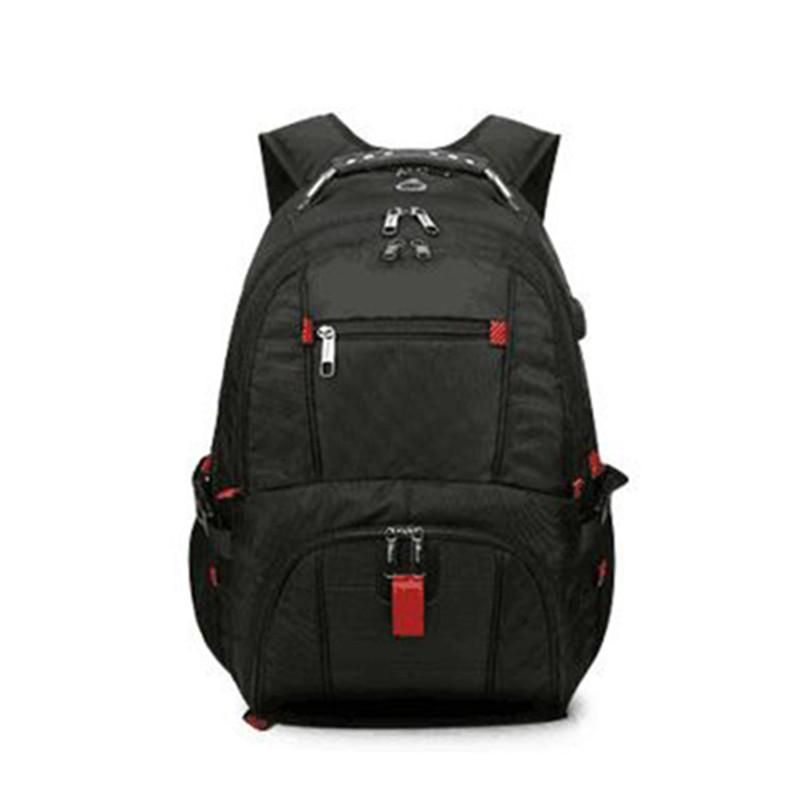 3825752964 Cheap FangNymph Large Capacity Multi-functional Nylon Laptop Backpack Male  Business Casual Computer Bag Men Large Travel Backpack