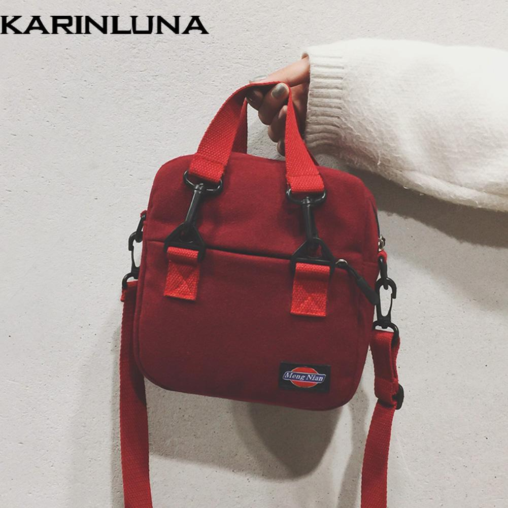 75d9106429 KarinLuna Trendy Style Shoulder Bags Female Small Handbags Design Leisure  Women 2018 Crossbody Bags Woman Handbags On Sale Leather Bags From Thefunk