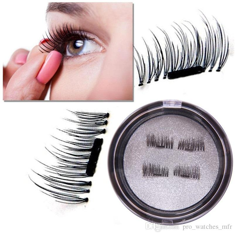 166446eb2f6 Magnetic Eye Lashes 3D Mink Reusable False Magnet Eyelashes Extension 3d  Eyelash Extensions Magnetic Eyelashes Makeup X062 1 Lash Extensions Red  Cherry ...