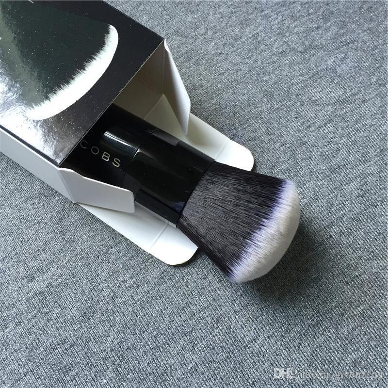 MJ YÜZ III Parlatıcı Vakfı Fırça # 3 - Kutu Paketi Yüksek Kalite Krem Kontur Fırçası-Güzellik Makyaj Fırçalar Blender DHL Ücretsiz