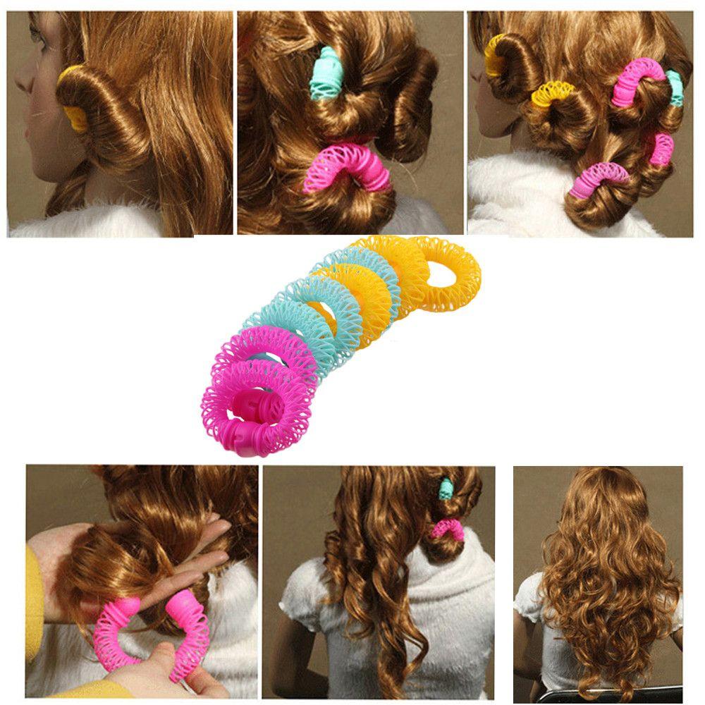 7908ebdb073 Hairdress Magic Bendy Hair Styling Roller Curler Spiral Curls DIY Tools  F720 Hair Cut Styles Short Hair Cut From Caiyecao