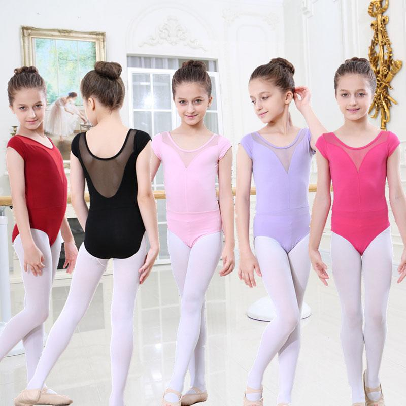 b51f9eb025 Pink Leotard Girls Ballet Dress For Children Girl Dance Clothing ...