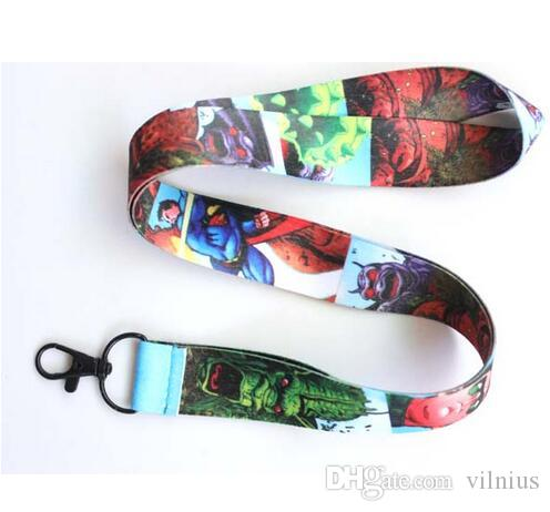 Hot!New design Avengers Popular MOBILE PHONE Cartoon Neck Strap MP3/4 cell Neck Strap ID Card Lanyard