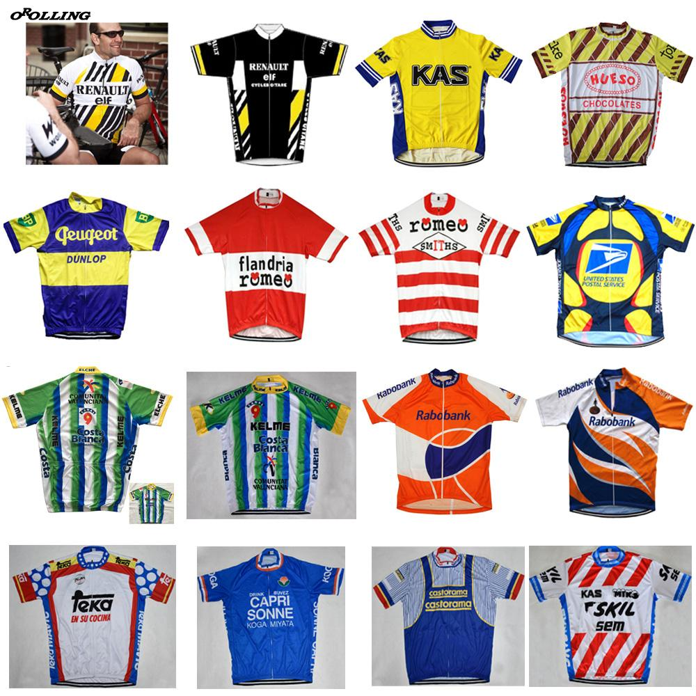 Multi Types Retro Any Choice New Team Cycling Jersey Customized Road  Mountain Race Top OROLLING CLASSICAL Mens Shirts Uk Cycling Apparel From  Pretty05 7c3c2d546