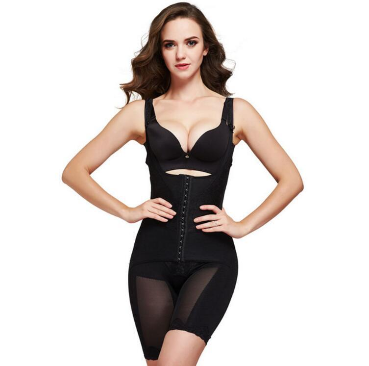 28c305878c0 2019 Slimming Underwear Bodysuit Women Lingerie Waist Trainer Body Shaper  Corrective Underwear Magnet Shapewear Loss Weight Corset From Asshown