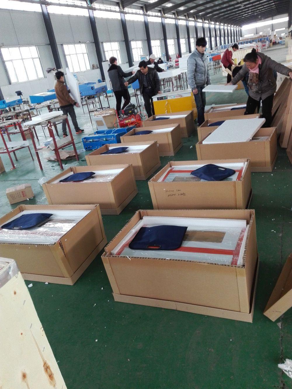 K40 300x200mm CO2 النقش بالليزر آلة قطع حفارة النجارة / الحرف الصين مصنع رخيصة الثمن