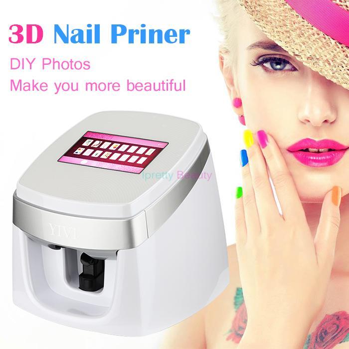 Nail Art Printer: Newest Automatic Intelligent Digital 3D Smart Nail Printer