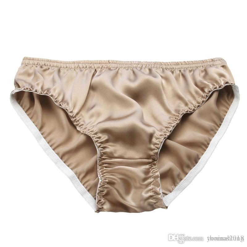 024d4309b756 Wholesale Plus Size Panties Pure 100% Mulberry Silk Men Breathable ...