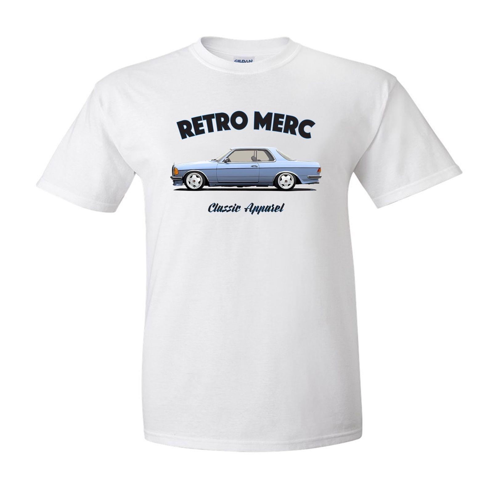 Mercedes Ce W123 Coupe T Shirt Retro Merc Classic Car German