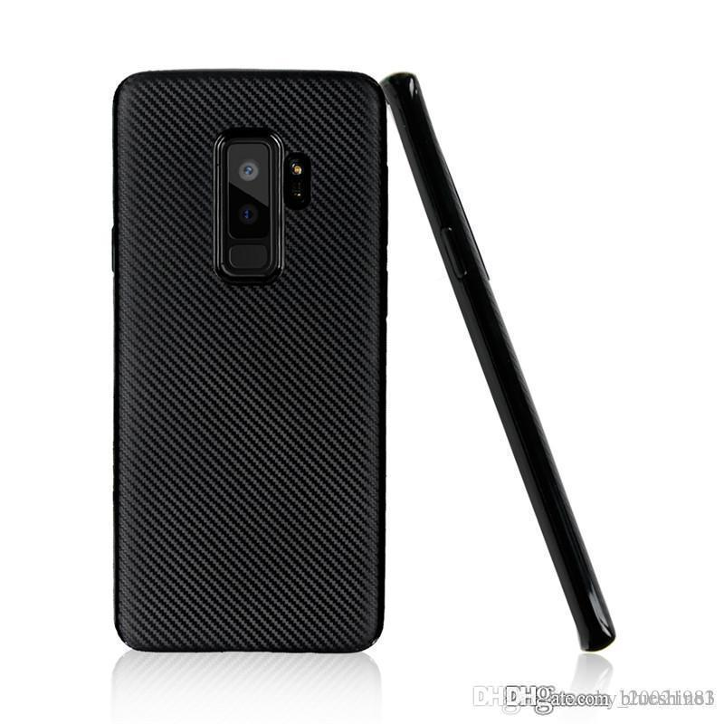 For samsung Galaxy s9 Case Carbon Fiber Soft Light and thin Cover For  Samsung Galaxy s9 plus Phone Bag Case