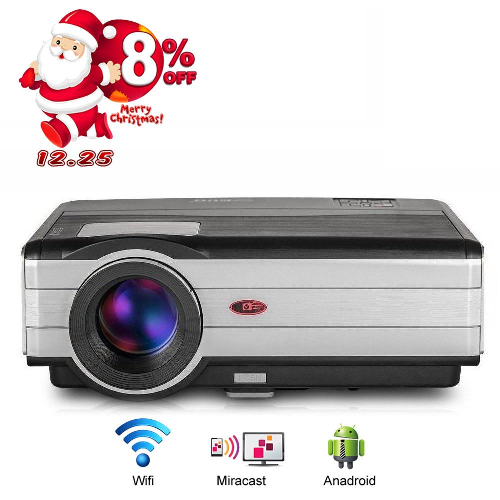 Home Theater Cinema LED Projector Full HD 1080p Android Wifi ...