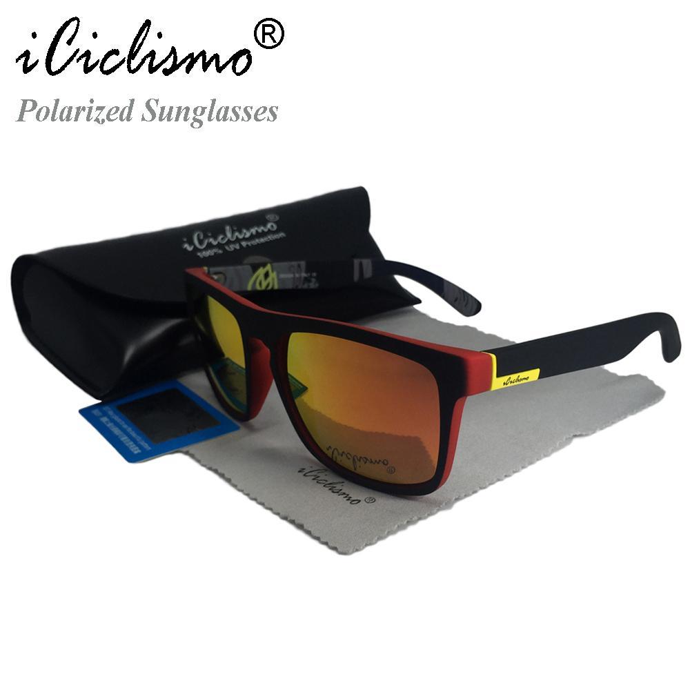 ae6a155afb Compre 2018 Marca Gafas De Sol Polarizadas Hombres Mujeres Gafas Gafas De  Sol Masculinas Para Hombres Lentes Hombre Oculos De Sol Masculino A $15.23  Del ...
