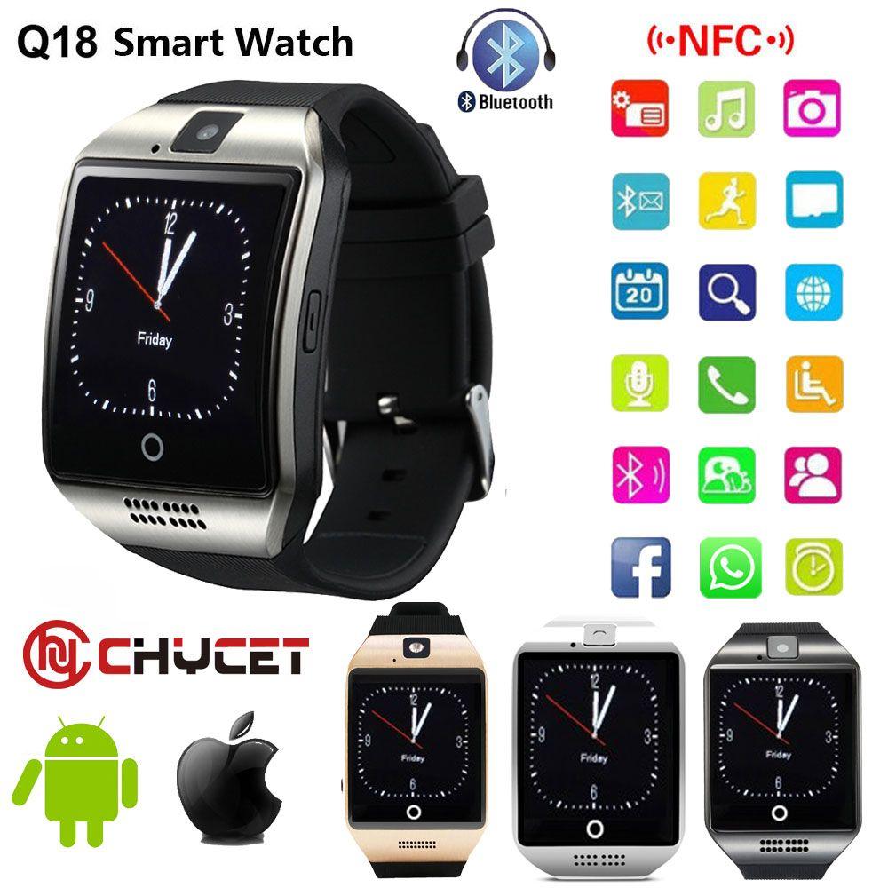Smart Watch Q18 Smartwatch Support Nfc Sim Card Gsm Camera For