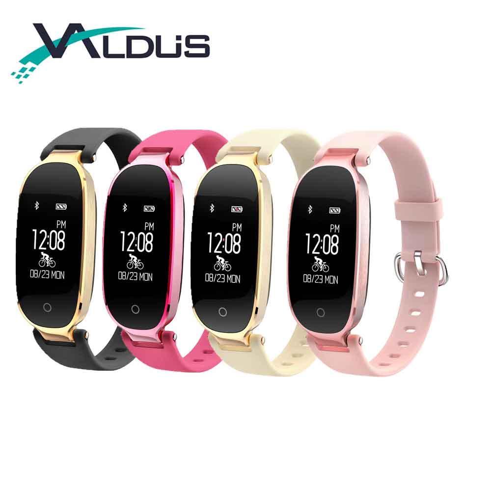 246ea68aa005 Valdus S3 Smart Band Pulsera Actividad Fitness Tracker Smartband Smart  Pulsera Smartband a prueba de agua para Android IOS Smartphone