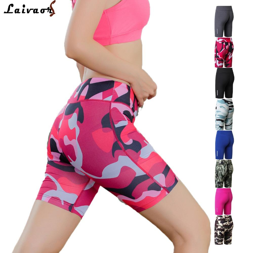 2019 Compression Spandex Running Shorts Women Elastic High Waist XS XL  Athletic Basketball Quick Drying Jogger Workout Long Shorts From  Nicebetter fe2194cdb9