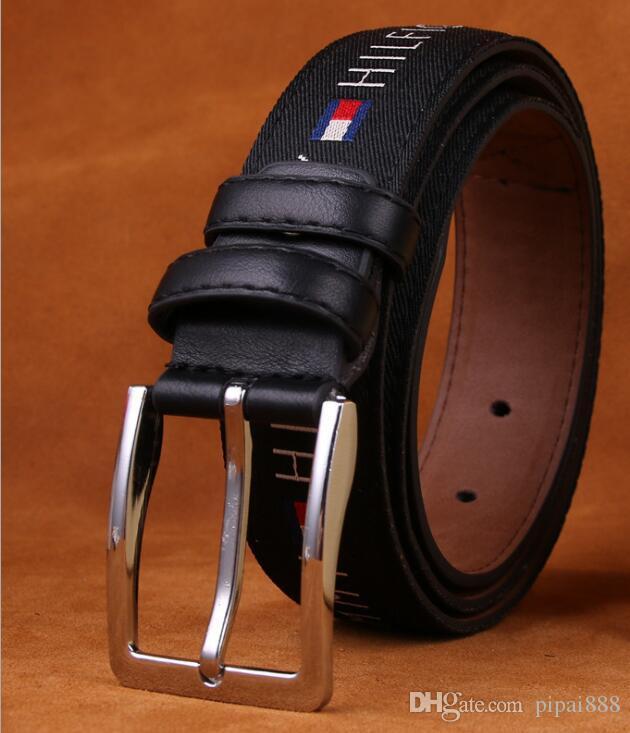 Prix bas et haute qualité lettre ceinture perceuse boucle luxe ceinture en  cuir designer ceinture en cuir pour cadeau 74a32691715