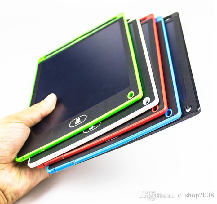 LCD 태블릿 디지털 디지털 휴대용 8.5 인치 드로잉 태블릿 필기 패드 성인을위한 전자 태블릿 보드 어린이 DHL