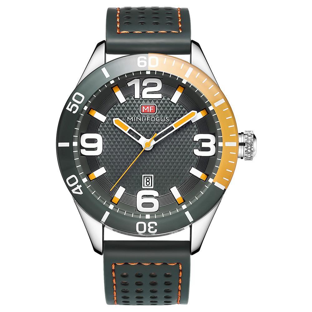 e3a3c985231 MINIFOCUS Fashion Sport Watches for Men Big Face Watch Casual ...