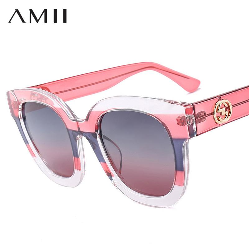 53b51e108a07 AMII New Fashion Polarized Women Cat Eye Sunglasses 2018 Brand ...