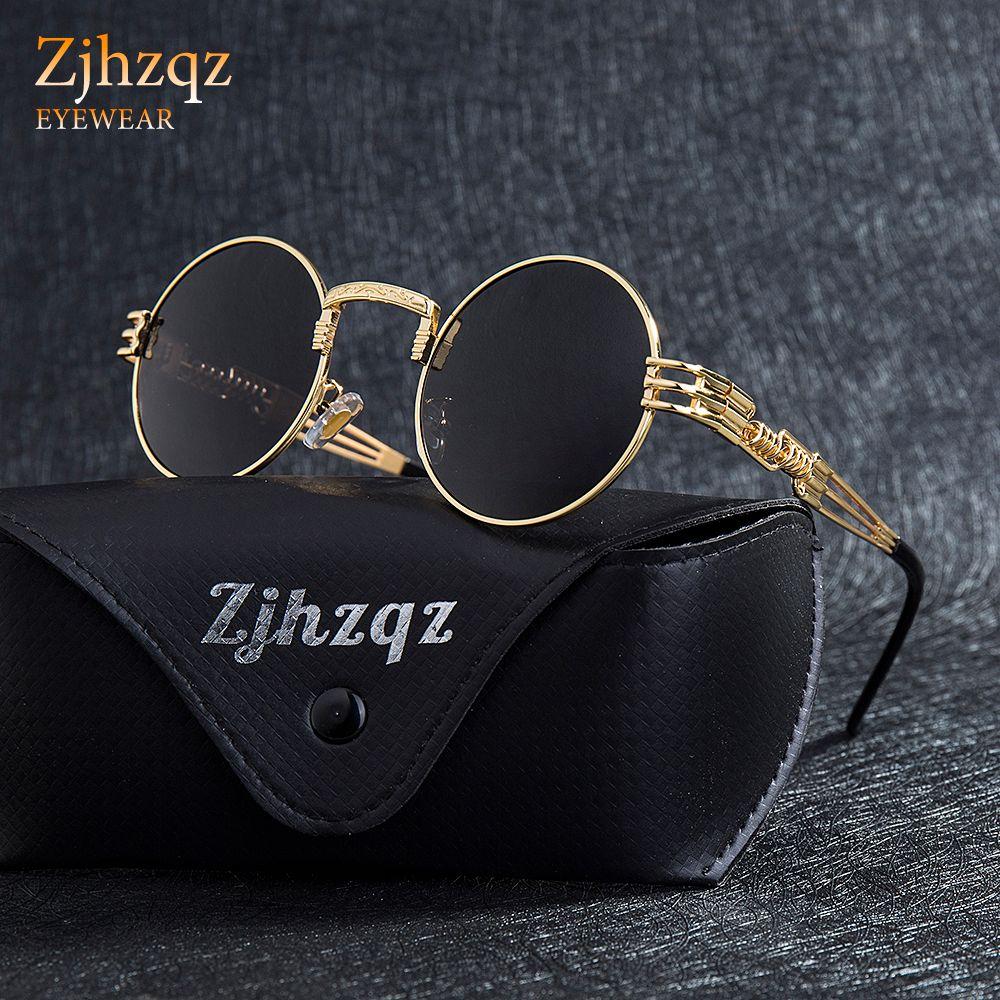 56ecc30279 Cheap Mens Polarized Rectangle Sunglasses Best Retro Super Sunglasses Golden