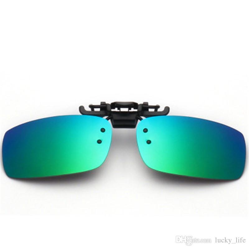 a3340008e2 Polarized Glasses Clip Flip Up UV400 Clip On Sunglasses Clip-on Flip ...