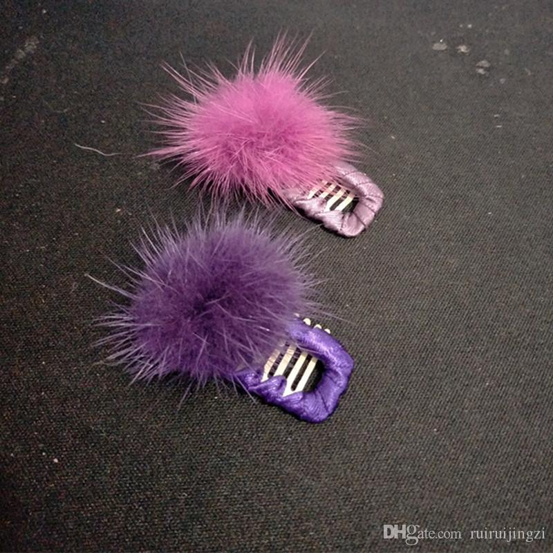 Dog Grooming Wedding Hair Accessories Pet Dog Comb Hairpin BB Hair Clips Hairball Hairpin