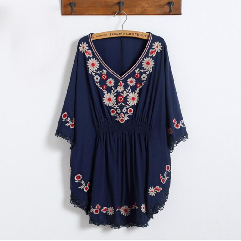 9a1021afd33c3 2018 Summer Ethnic Style Embroidery Bats Sleeves Maternity Shirts Pregnancy  Maternity Clothes Blouse Pregnancy Shirt Blouses & Shirts Cheap Blouses &  Shirts ...