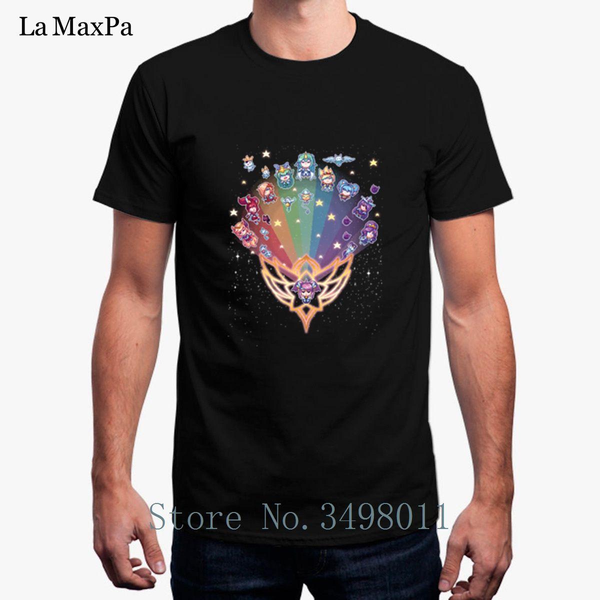 d6228c05e Funny Casual Pixel Star Guardian T Shirt Cool Round Collar Tee Shirt Unisex  Big Sizes T Shirt Men 2018 Homme Hip Hop Long Sleeve Tee Shirts Design Your  Own ...