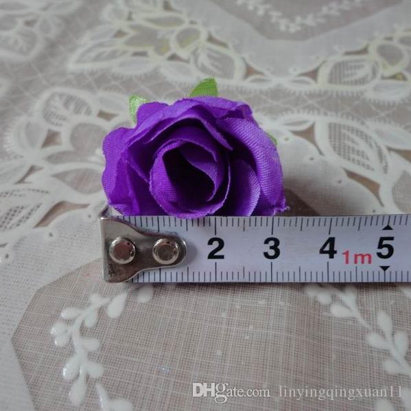 / pack Fiori freschi e artificiali piccolo germoglio del tè Simulazione piccolo tè rosa fiore di seta decorazione testa fiore accessori fai da te
