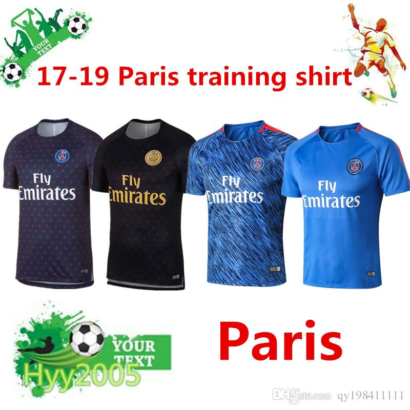 Top Quality 2017-19 PSG Short-sleeved Sportswear 18 19 Paris CAVANI ... 6d84e80b5