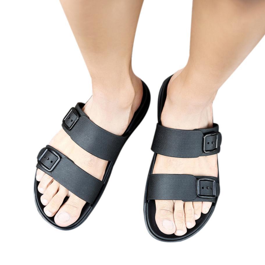 1c881ee667fc2d Acheter Hommes D'été Chaussures Loisirs Pantoufles Tongs Chaussures  Confortables Sandale Souple Plus Discount Promotion De $44.0 Du Xiamenshoes  | DHgate.Com