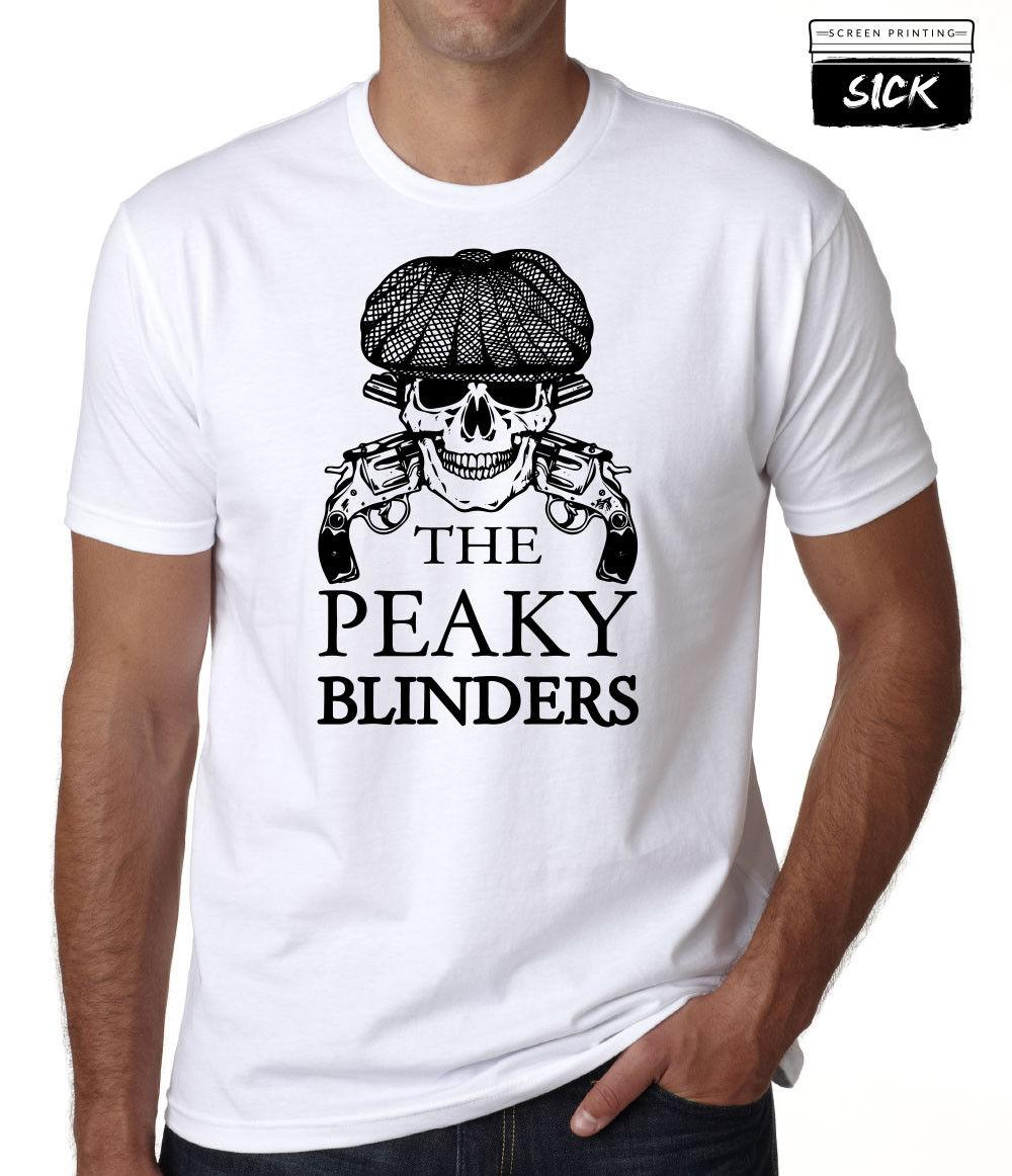 b89ff6413 BY ORDER OF THE PEAKY BLINDERS T SHIRT SKULL TOMMY SHELBY COMPANY PUB TOP  NEW Custom Shirt Black Shirts From Customizedshirts46, $11.58| DHgate.Com