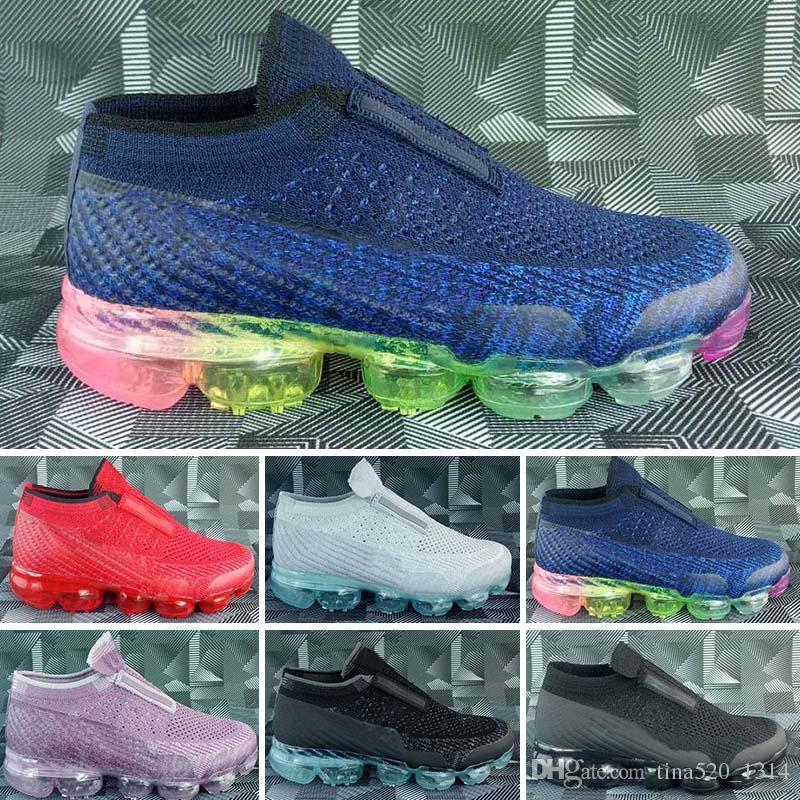 Para Entrenamiento 2018 Bebé Niña Zapatos Max Niños Air Atléticos Nike Deportivas Correr Zapatillas Todo Negro R34c5LAjqS