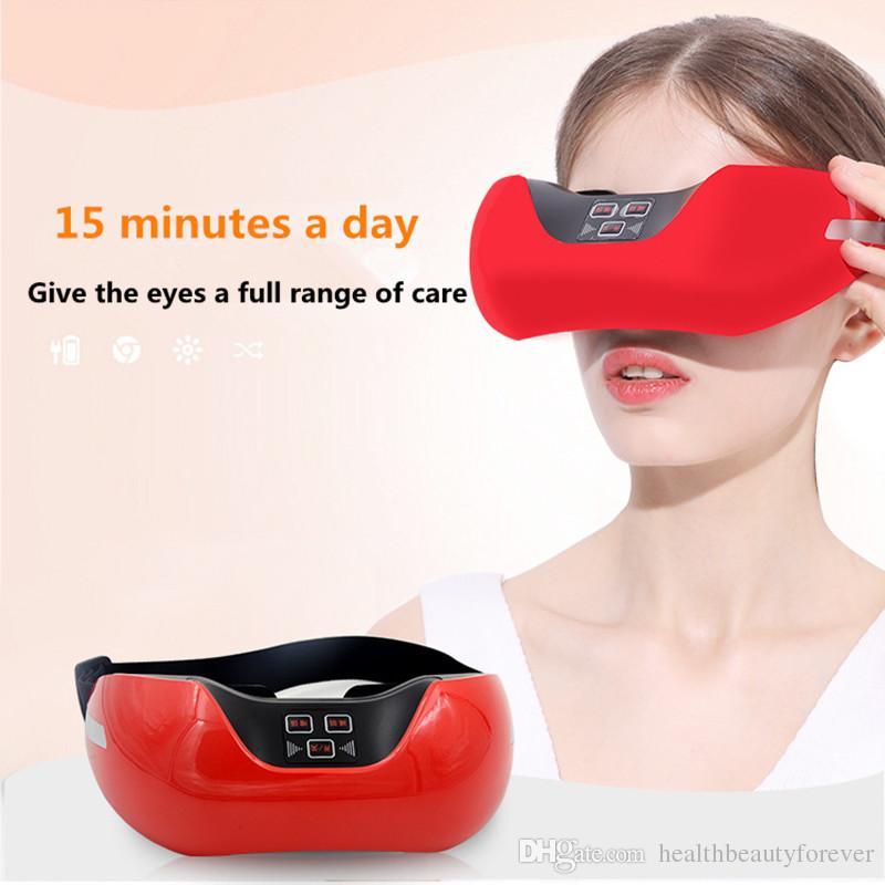 Medidor de agudeza visual 3D Luz verde Acupuntura ocular Masaje Entrenamiento de la vista Aliviar la fatiga ocular