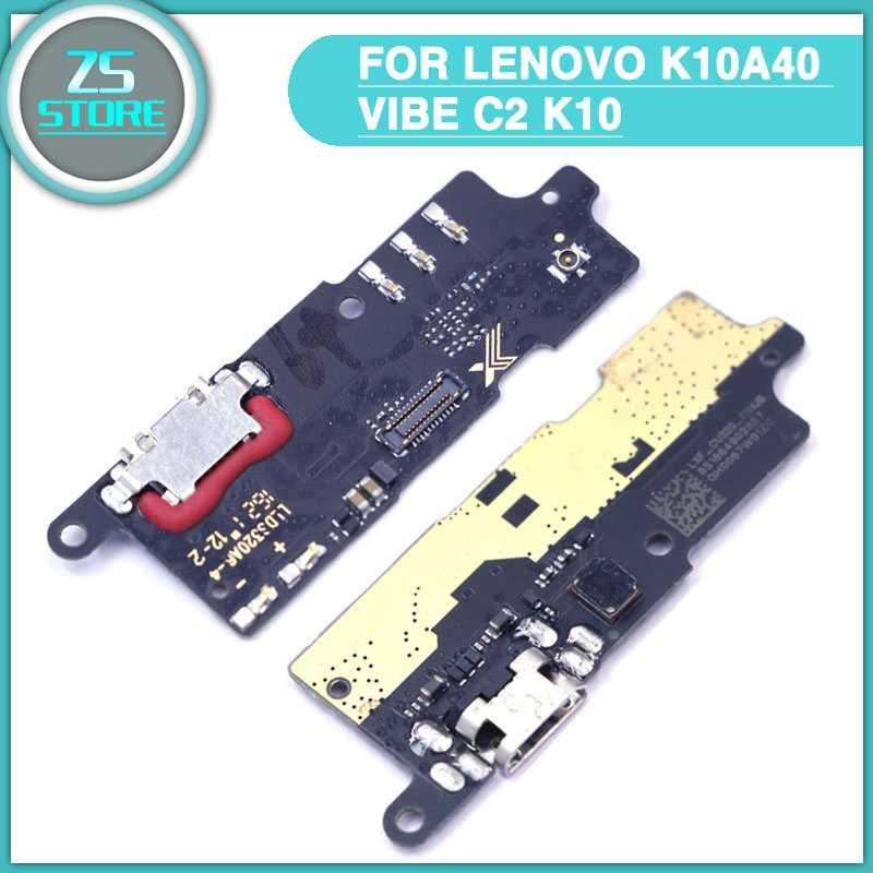 new C2 Charging Port Flex For Lenovo k10A40 Vibe C2 K10 Charger USB  Charging Port Dock Connector Mic Microphone Board