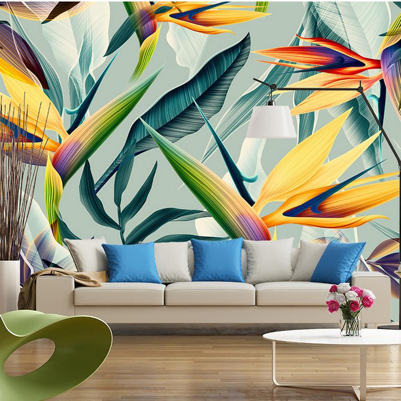 Asian colors interior tropical