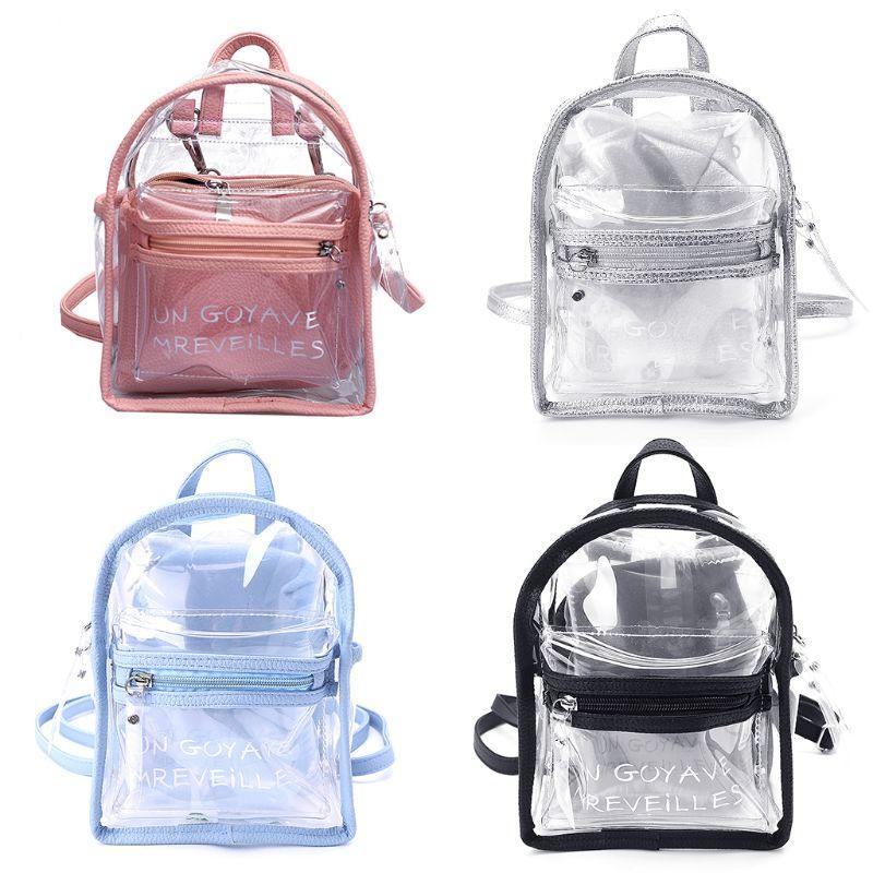 Mochilas Niñas Mini Mujeres Transparente Compre Jelly Pequeñas tdrCsQxh