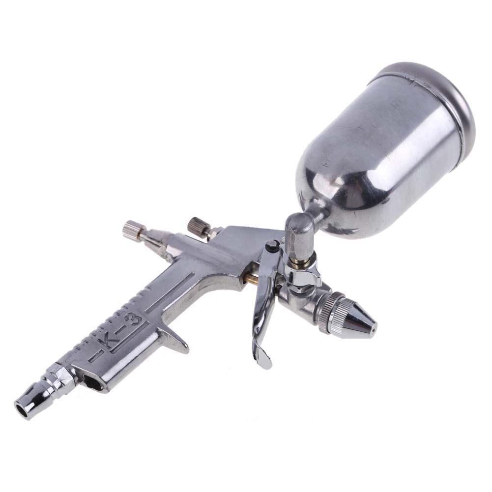Magic Spray Gun Sprayer Air Brush Alloy Painting Paint Tool 125ml Gravity Feeding Airbrush Penumatic Furniture For Painting Cars