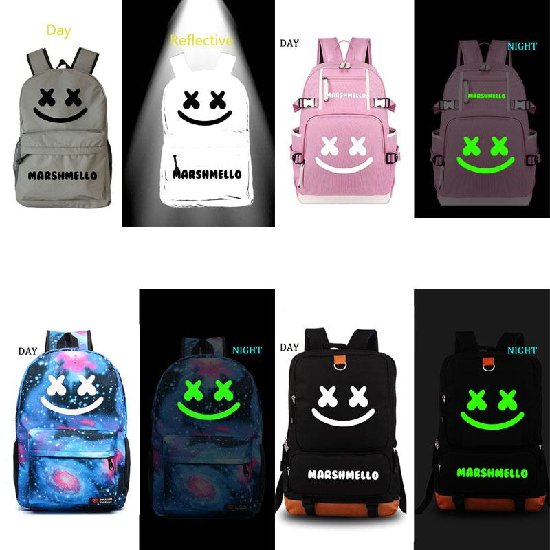Marshmello School Bag DJ Backpack Student School Bag Notebook Backpack  Leisure Daily Backpack Y18100804 Kids Backpacks For School Backpacks In  Style From ... 23e9ae546052b