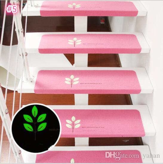 Wholesale New Home Luminous Self Adhesive Non Slip Floor Staircase Mat  Carpets Bear Claw Pattern Stair Treads Children Safety Protector Mats  Furniture ...
