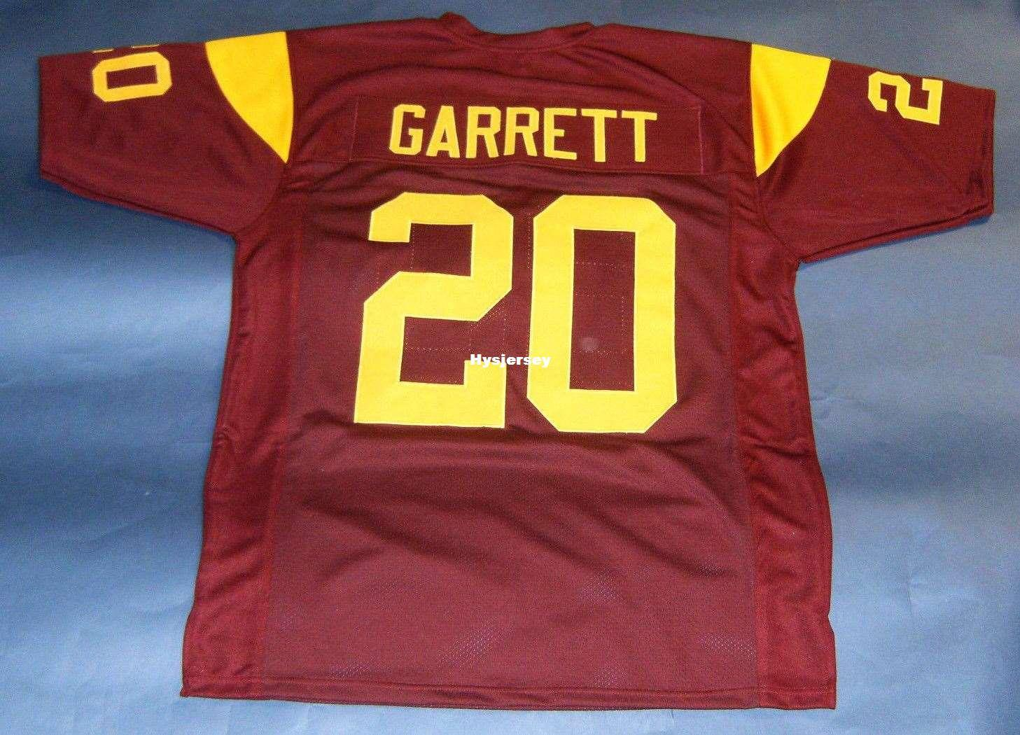 Cheap Retro  20 MIKE GARRETT CUSTOM USC TROJANS Top JERSEY SOUTHERN ... 9c14e99bb