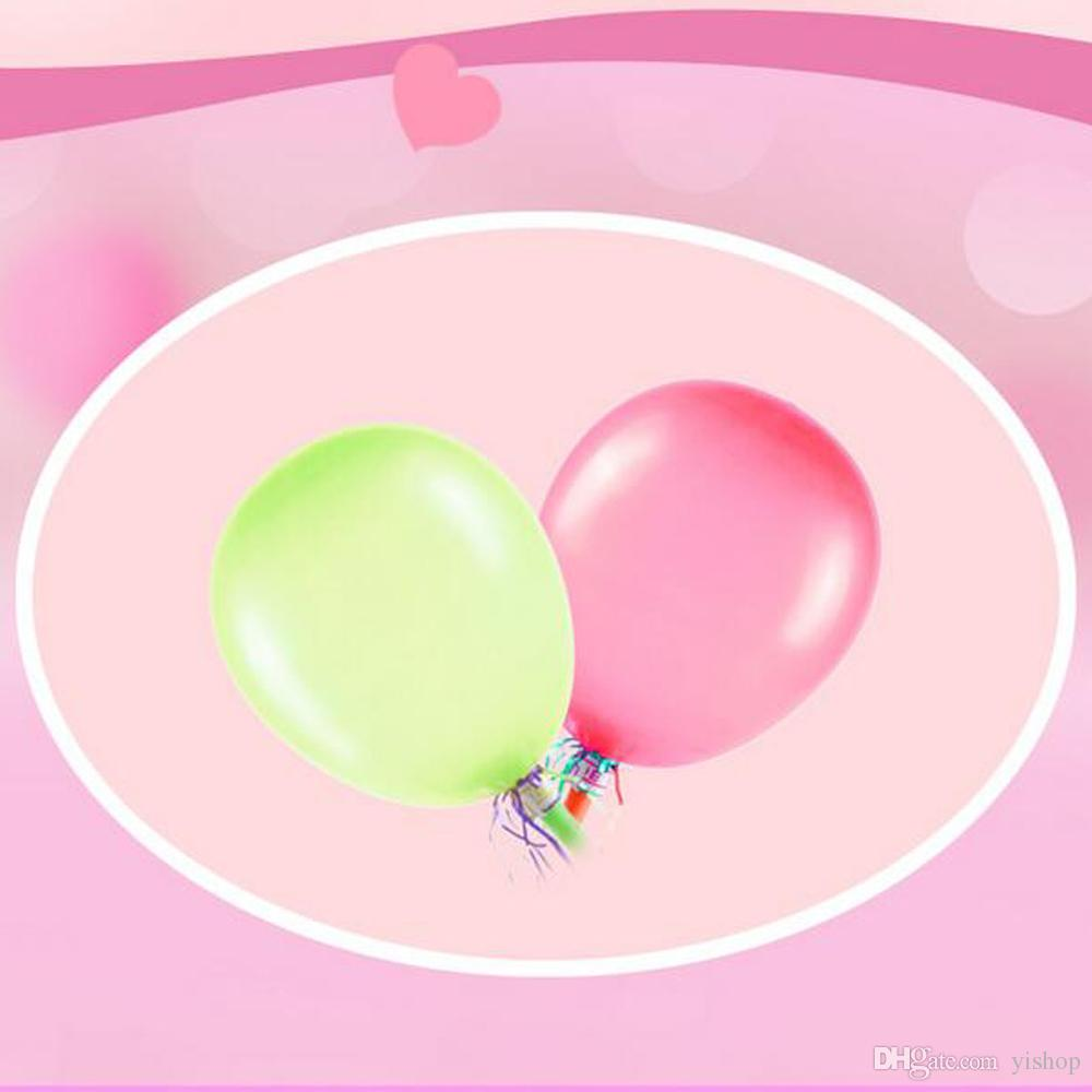 High Quality 8inch Latex Helium Inflable Ball Ballon With Whistles Wedding Party And Birthday Decoration Balloon Kids Present