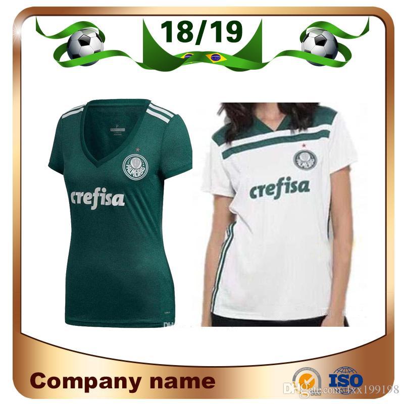 72547b48c7fdc2  Compre 2019 Palmeiras Mulher 10 MOISES Camisa De Futebol 18  19 Casa Verde 9 BORJA Camisa ... 16dab46f86b8f