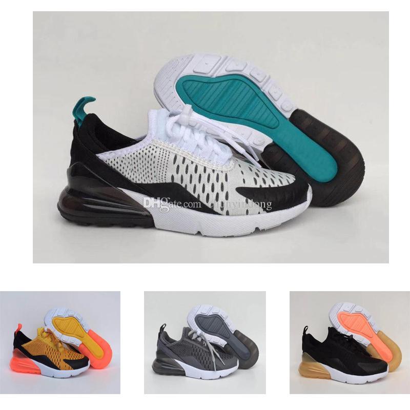 san francisco 07eb1 b49f1 Acquista Nike Air Max 270 27c Bambini 270 Scarpe Ragazzi C Maglia Sneakers  Bambini Ragazze Alta Qaulity 270c Escursioni Jogging A Piedi Outdoor Scarpe  ...