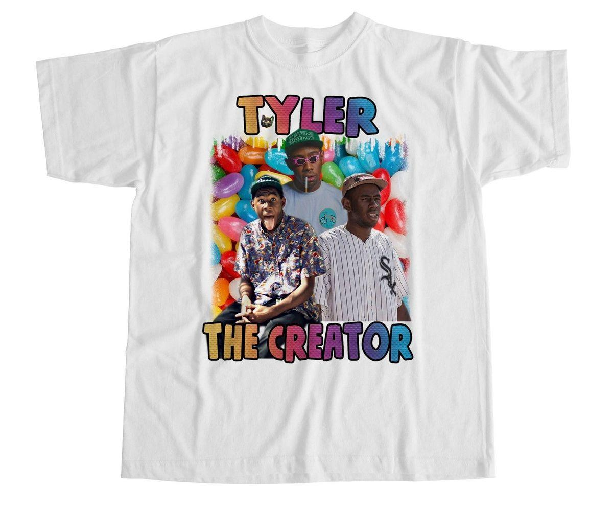 a52b1d8ab3351b Tyler The Creator T Shirt Earl OFWGKTA Odd Future Cherry Bomb Wolf Gang New  Mens T Shirts Fashion 2018 Clothing Punk Tops Cool Tees Graphic T Shirt  From ...