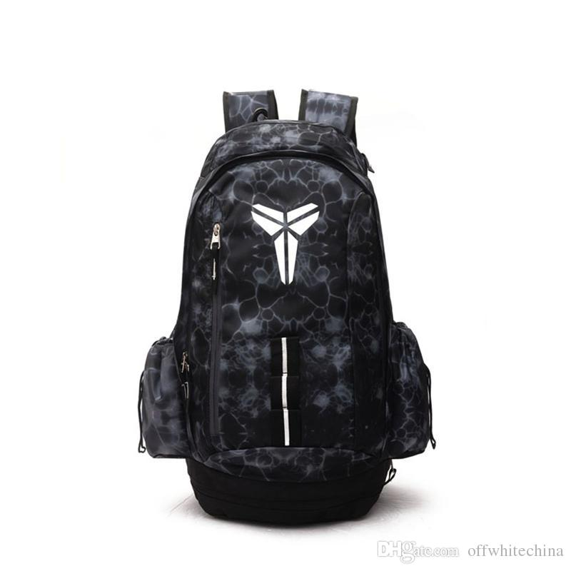 Brand New KOBE Basketball Backpacks Sport Backpack Man Backpack Large Capacity Training Women Travel Bags School Bag Shoes Bag