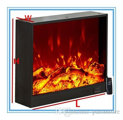 Remarkable Embedded Electric Fireplace With 3D Decor Flame Remote Controller Visual Toughenedglass Screen Inserted Decorative Cabinet Size660 180 560Mm Download Free Architecture Designs Meptaeticmadebymaigaardcom