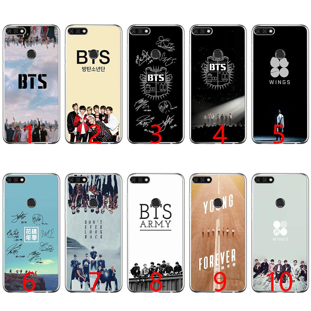 brand new a1278 bc623 bts bangtan boys Soft Silicone Phone Case for Huawei P8 P9 Lite 2015 2016  2017 P10 20 Lite P Smart